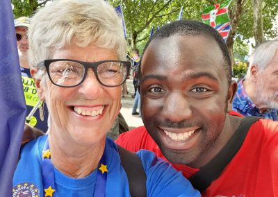 Femi March for Change Stop Brexit