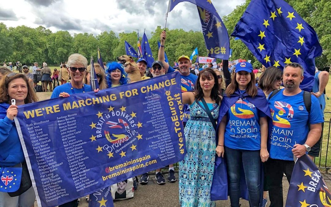 Bremain are Marching for Change – London 20th July