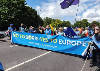 No to Boris March for Change Stop Brexit
