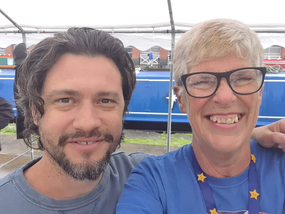 Mike Galsworthy and Sue