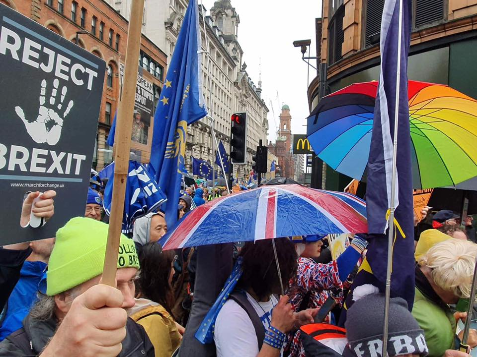 Weather won't stop Remainers!