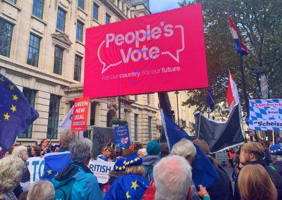 #PeoplesVoteMarch