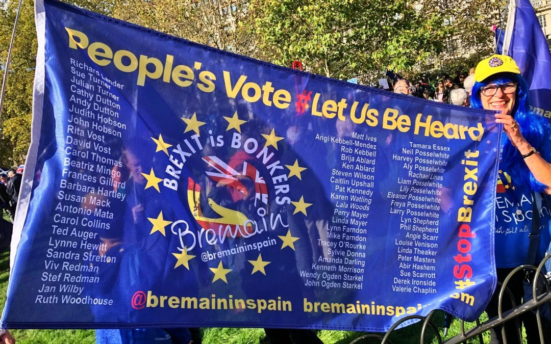 """Let Us Be Heard"" Bremainers are Marching for a #PeoplesVote"