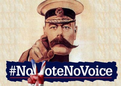 No Vote No Voice