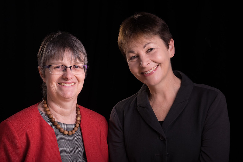 Molly and Caroline Lucas MP
