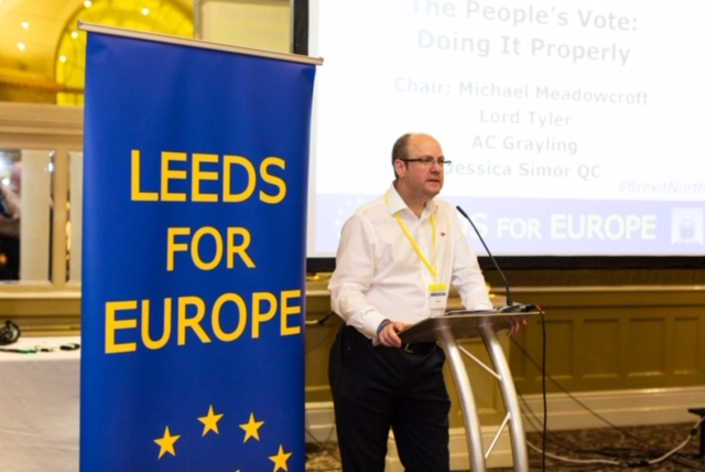The Great Northern Stop Brexit Conference Leeds 2018