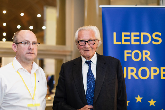 Richard with Lord Heseltine